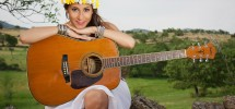 girl-guitar-music-background-country-singer-photo-field