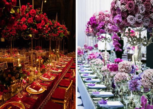 10 Great Centrepiece Ideas For Wedding Flowers Arrangements