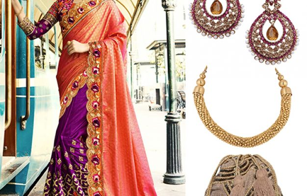 Modern Ways To Make Your Bridal Saree Look Just Perfect