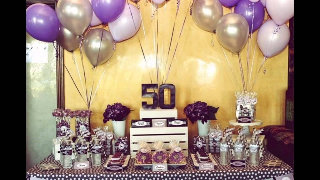 Planning The 50th Birthday Party