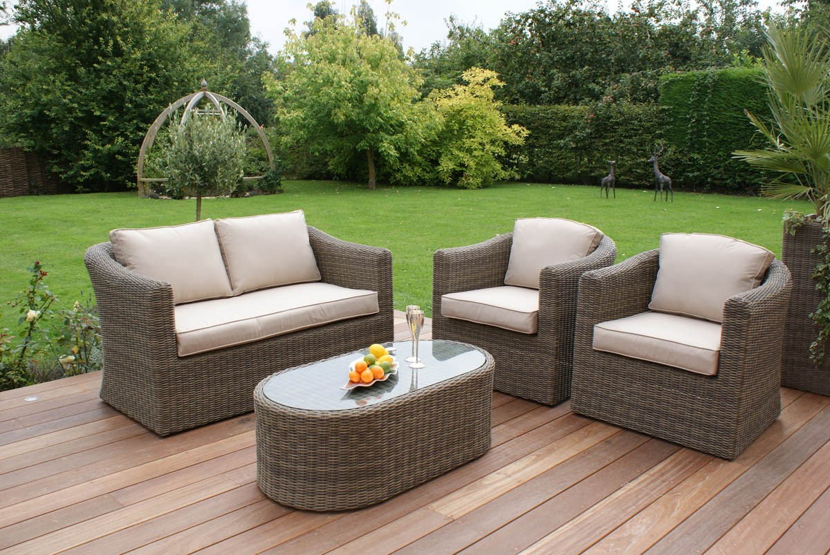 Highly Attractive, Affordable, And Long Lasting Rattan Garden Furniture