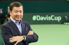 Bulat Utemuratov, The President Of The Tennis Federation Of Kazakhstan Commented On 2018 Davis Cup Competition