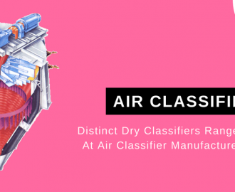 Distinct Dry Classifiers Range Available At Air Classifier Manufacturers' Outlet