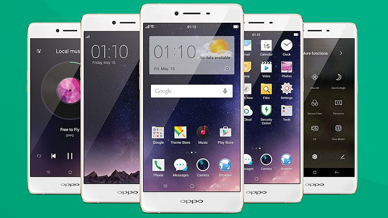 Oppo Unveils R7s 5.5-Inch AMOLED Display and 4GB Of RAM