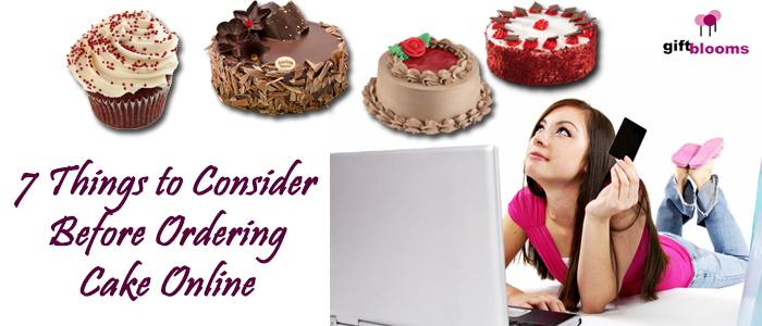 7 Things To Consider Before Ordering Cake Online