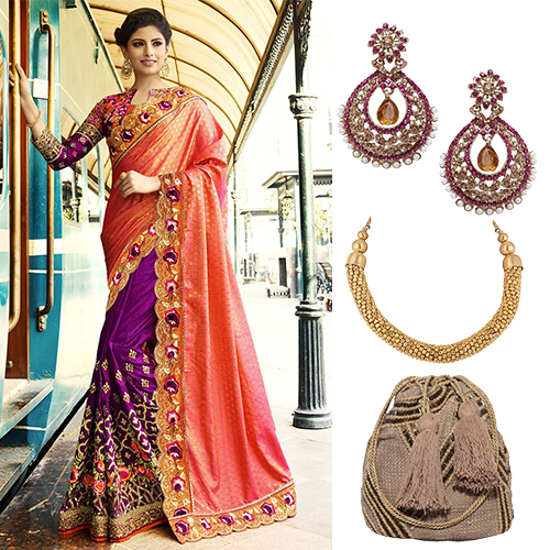 Modern Ways To Make Your Bridal Saree Look Just Perfect