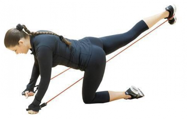 Using Resistance Band