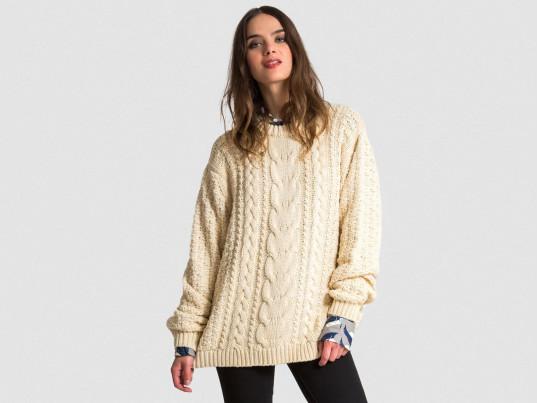 Why Celebrities Love Aran Sweaters